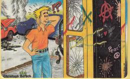 Telefoonkaart – Duitsland - Deutsche Telekom  - 12DM - Schluß Mit Dem Vandalismus An Telefonhäuschen - 1996 - Telefoonkaarten