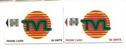 1eres  Cartes Du VANUATU  (clasroug) - Vanuatu