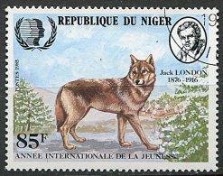 (cl 6 - P.38) Niger Ob  N° 666 (ref. Michel Au Dos) -  Loup  - - Niger (1960-...)