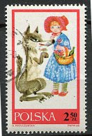 """(cl 6 - P.39) Pologne Ob  N° 1682 (ref. Michel Au Dos) -  """"Le Petit Chaperon Rouge"""" Loup  - - 1944-.... République"""