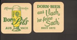 Bierdeckel Dorn Bier Vach R: Dorn Pils - Sous-bocks