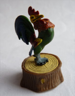 FIGURINE ASTERIX PLASTOY 2002 COQ GAULOIS SUR SOCLE TBE Pièce De Jeu D'échec En PVC 2006 - Asterix & Obelix