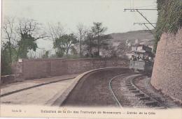 76 -- Seine Maritime -- Collection De La Cie Des Tramways De Bonsecours -- Série D3 -- Entrée De La Côte - Bonsecours