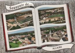CPSM ALLAIRE (Morbihan) - Souvenir De.....4 Vues - Allaire