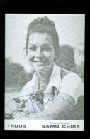 Artiste ( Pas Une Carte Postale  Geen Postkaart )  Chanteur Chanteuse Zanger Zangeres :  Truus Samo Chips  Patatje - Foto