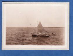 Photo ancienne - PIRIAC sur MER ( Loire Atlantique ) - Beau bateau de p�che immatriculation Ci315 - voile voilier