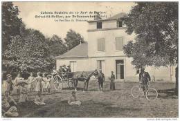 ORIVAL - SAINT - HELLIER ..-- 76 ..-- 1915 . Pavillon Du Directeur . - Bellencombre
