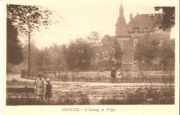 LIEGE - COINTE (4000) : L'Etang Et Villa. CPA Très Rare. - Liege