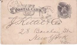 USA,  Cedar Rapids,  1884, Postcard ( 18004/002) - Interi Postali