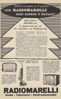 # RADIOMARELLI TV TELEVISION ITALY 1950s Advert Pubblicità Publicitè Reklame Publicidad Radio TV Televisione - Libri & Schemi