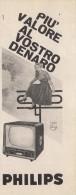 # PHILIPS TV TELEVISION ITALY 1950s Advert Pubblicità Publicitè Reklame Publicidad Radio TV Televisione - Televisione