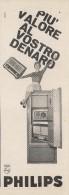 # PHILIPS RADIO ITALY 1950s Advert Pubblicità Publicitè Reklame Publicidad Radio TV Television - Radio & TSF