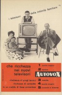 # AUTOVOX TV TELEVISION ITALY 1950s Advert Pubblicità Publicitè Reklame Publicidad Radio TV Televisione - Television