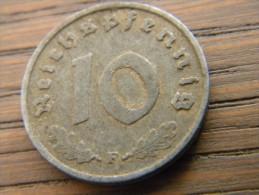 ALLEMAGNE - 10 RPFG 1940 F