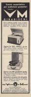 # VM MICHIGAN USA GIRADISCHI TURNTABLE Italy 1950s Advert Pubblicità Publicitè Reklame Drehscheibe Radio TV Television - Non Classificati