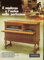 # GRUNDIG GIRADISCHI TURNTABLE ITALY 1950s Advert  Publicitè Reklame Drehscheibe Radio TV - Unclassified