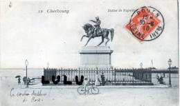 DEPT 50 : Cherbourg , Statue Napoléon ( Enfant Velo ) - Cherbourg