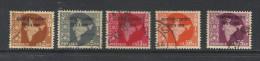 INDIA, 1957, ICC,  Vietnam, Wmk Stars,  Militaria,  Intll. Control Commission, Wmk Stars, 5 V Comp. Set, FINE USED - Franchigia Militare