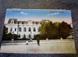 Roumanie Bucarest Konigliches Schloss Pour Monsieur Ange Tirailleur Indigène Quelque Part En France Ou Ailleurs 1918 - Roumanie