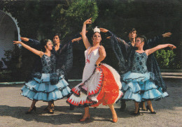 "España--Gerona--1974--Folklore Español--Ballet De ""Pepita Ibars""..Fechador--a, Coulommiers, Francia - Vestuarios"