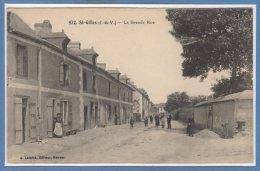 35 - SAINT GILLES --  La Grande Rue - France