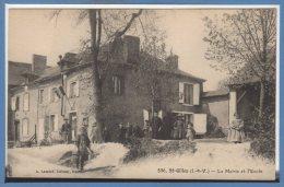 35 - SAINT GILLES --  La Mairie Et L'Ecole - Other Municipalities