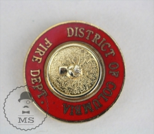 Sapeurs Pompiers / Fireman Firefighter - District Of Columbia Fire Department - Pin Badge #PLS - Bomberos