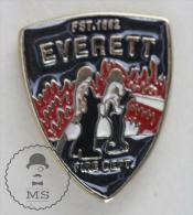 Sapeurs Pompiers / Fireman Firefighter Everett Fire Department  - Pin Badge #PLS - Bomberos