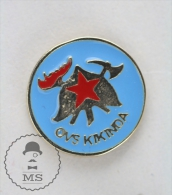 Sapeurs Pompiers / Fireman Firefighter - OVS Kikinda Serbian Fire Department - Pin Badge #PLS - Bomberos