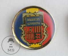 Andorra Fireman Firefighters/ Sapeurs Pompiers - Pin Badge #PLS - Bomberos