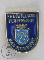 Freiwillige Feuerwehr Hamburg Germany - Fireman Firefighters/ Sapeurs Pompiers - Pin Badge #PLS - Bomberos