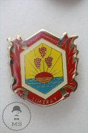 Limeray France Sapeurs Pompiers - Fireman Firefighters - Pin Badge #PLS - Bomberos
