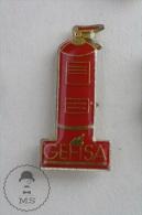 Extinguishers GEFISA - Sapeurs Pompiers - Fireman Firefighters - Pin Badge #PLS - Bomberos