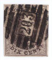 10 P 203 Gilly  Ex-Scheerlinck (voir Description) - 1858-1862 Medallones (9/12)