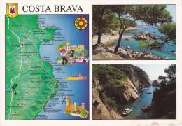 España--Gerona--1994--Palamos--Plano De Las Poblaciones--para, Francia - Mapas