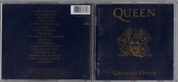 """ALBUM  C-D QUEEN """" GREATEST HITS II """" - Hard Rock & Metal"""