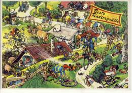 Humour, Umorsimo - Rad Fahren, Bycicle, Cycling Cyclisme  Radler Grüße - Cycling