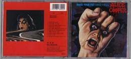 "ALBUM  C-D  ALICE COOPER  "" RAISE YOUR FIST AND YELL  ""  DE 1987"