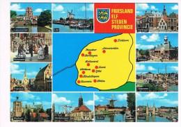 31940 ( 2 Scans ) Friesland Elf Steden Provincie - Niederlande
