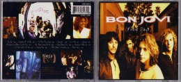 "ALBUM  C-D  BONJOVI  "" THESE DAYS  ""  DE  1995 - Hard Rock & Metal"