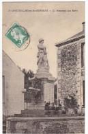 St-MARTIN-LARS En Sainte Hermine. - Le Monument Aux Morts. Carte Très Rare - France