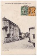 St-MARTIN-LARS En Sainte Hermine. - Rue Principale. Carte Pas Courante - France
