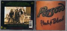 "ALBUM  C-D  POISON  "" FLESH E BLOOD  "" - Hard Rock & Metal"