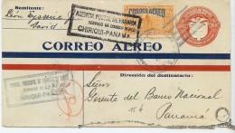 LBL30 - PANAMA EP ENVELOPPE VOYAGEE CHIRIQUI / PANAMA DÉCEMBRE 1929 - Panama