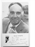 Carte Postale De Bernard LAVALETTE - Signé / Hand Signed / Dédicace Authentique / Autographe - Acteurs