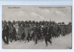 5497    CPA      ZOSSEN -  WÜNSDORF   : Transport Französischer Kriegsgefangener  1915 - Zossen
