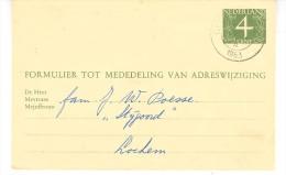 Verhuiskaart G26 Geldermalsen-Lochem - Postal Stationery