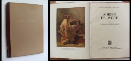 Adrien De Witte Par Charles Delchevalerie. 1949 - Libri, Riviste, Fumetti