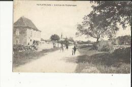 Vaylats  46    L'Avenue De Puylaroque Animée - France