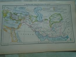 MAP  The Diadoch's  Kingdom -  Macedonians  - Alexander - B.C. 250  -  Ca 1897   S0472 - Autres